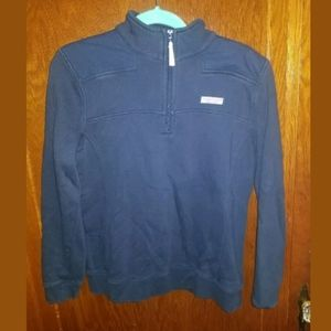 Vineyard Vines Blue 1/4 Zip Sweatshirt Medium